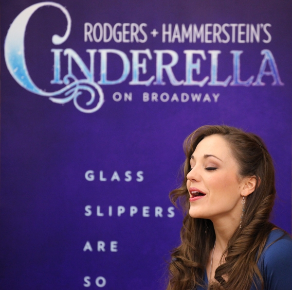 Photo Coverage: Cast of CINDERELLA Meets the Press- Laura Osnes, Santino Fontana, Victoria Clark & More!