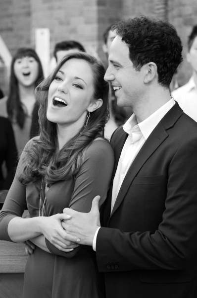 3 at Cast of CINDERELLA Meets the Press- Laura Osnes, Santino Fontana, Victoria Clark & More!