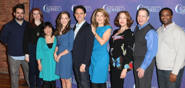 Greg Hildreth, Marla Mindelle, Ann Harada, Laura Osnes, Santino Fontana, Victoria Clark, Harriet Harris, Peter Bartlett & Phumzile Sojola at Cast of CINDERELLA Meets the Press- Laura Osnes, Santino Fontana, Victoria Clark & More!