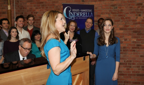Photo Coverage: Cast of CINDERELLA Meets the Press- Laura Osnes, Santino Fontana, Victoria Clark & More!