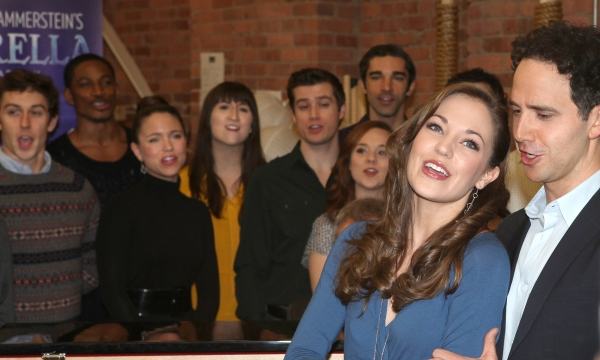 Photo Coverage: Cast of CINDERELLA Meets the Press- <a data-cke-saved-href=