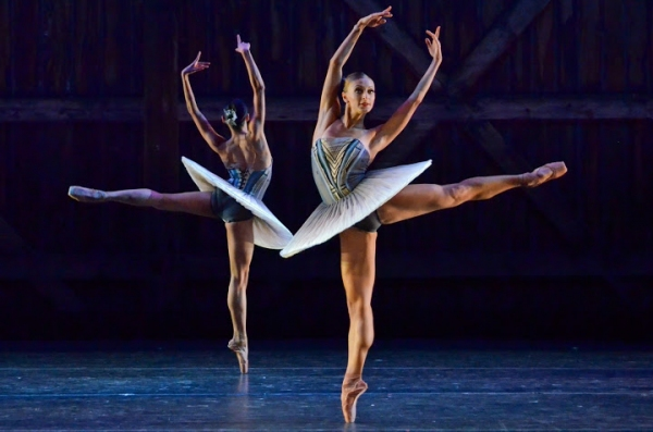 Photo Flash: First Look at Victoria Jaiani, Miguel Angel Blanco and More in Joffrey's AMERICAN LEGENDS