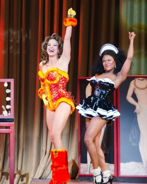 Rachelle Rak and Dequina Moore Photo