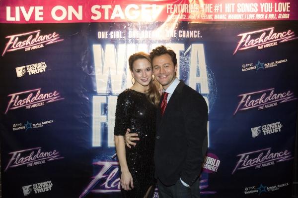 Emily Padgett and Matthew Hydzik