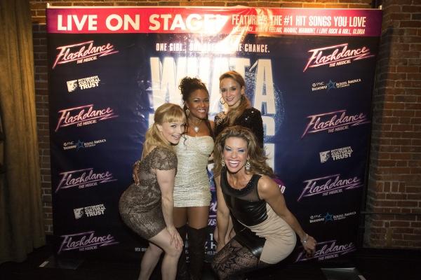 Kelly Felthous, DeQuina Moore, Emily Padgett and Rachelle Rak