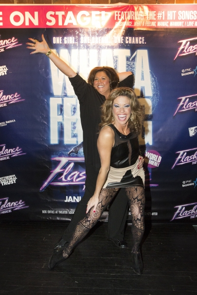Abby Lee Miller and Rachelle Rak