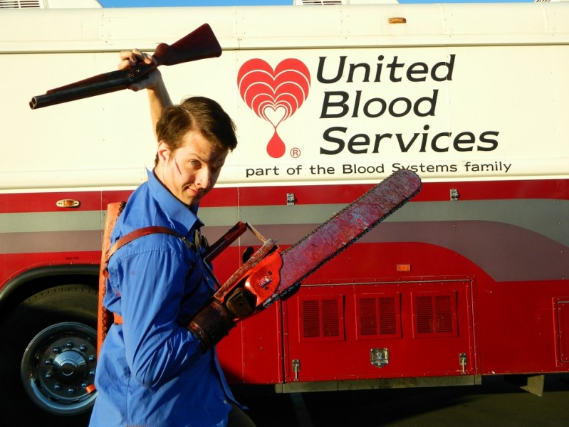EVIL DEAD: THE MUSICAL Collects Dozens of Units of Blood for United Blood Services
