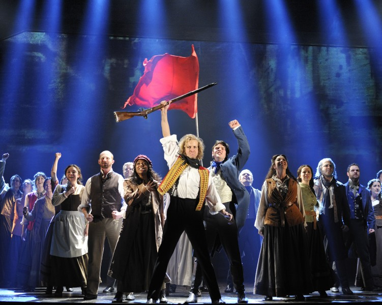 les miserables as a musical