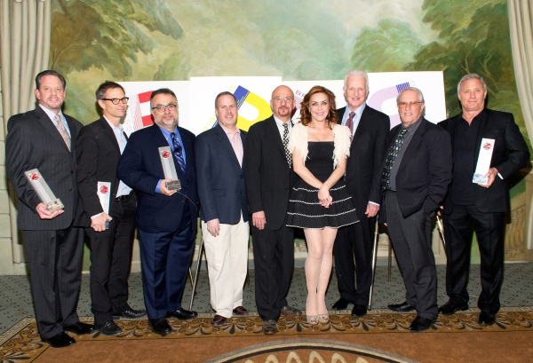 David Peckinpaugh, Adam Moss, Richard Frankel, Marc Routh, Anthony Napoli, Andrea McArdle, Tom Viertel, Steve Baruch, Ian Schrager at Inside the 2013 June Briggs Awards with Andrea McArdle & More!