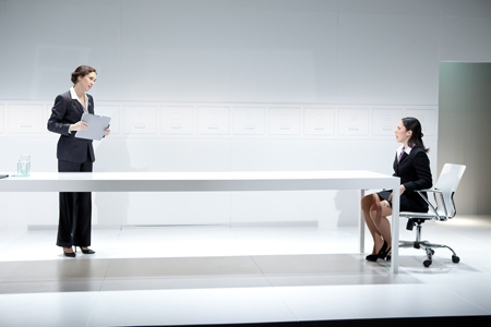 Photo Flash: First Look at Holly Twyford and Alyssa Wilmoth Keegan in CONTRACTIONS