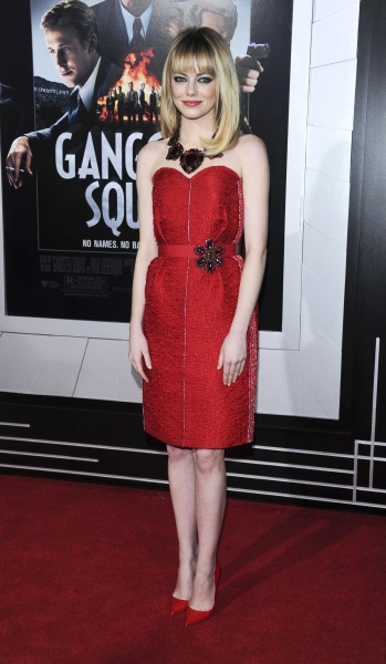 Fashion Photo of the Day 1/8/13 - Emma Stone