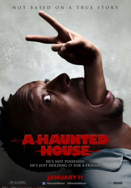 Photo Flash: New Poster Art for Upcoming Horror Spoof A HAUNTED HOUSE