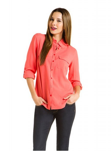 Daily Deal 1/8/13: Go Silk Button Down Blouse