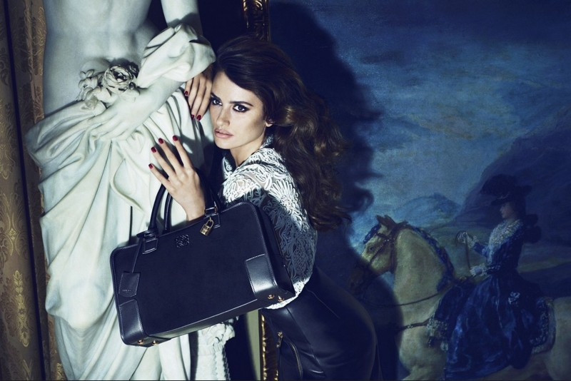 Penélope Cruz Fronts for Loewe Campaign