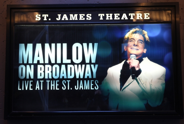 Up On The Marquee: MANILOW ON BROADWAY