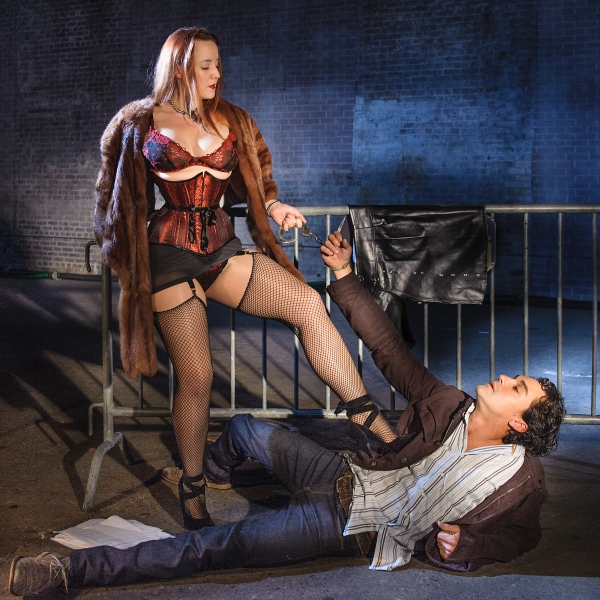 Photo Flash: First Look at Veronica Russell and Todd d'Amour in Southern Rep's VENUS IN FUR