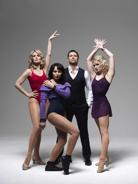 Leigh Zimmerman, Victoria Hamilton-Barritt, John Partridge and Summer Strallen lead the cast of A Chorus Line