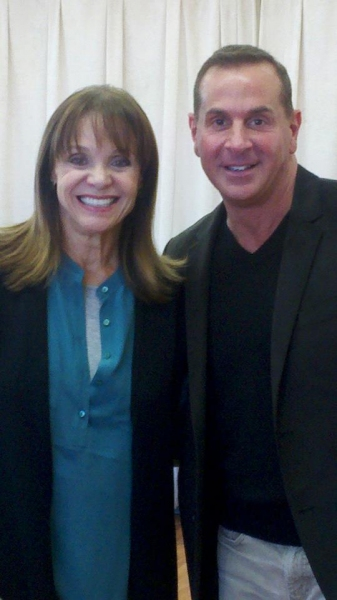 Valerie Harper and Matthew Lombardo