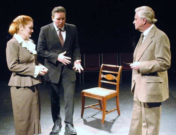 Photo Flash: First Look at John Honeycutt, Brook North, and Bonnie Roe in COPENHAGEN