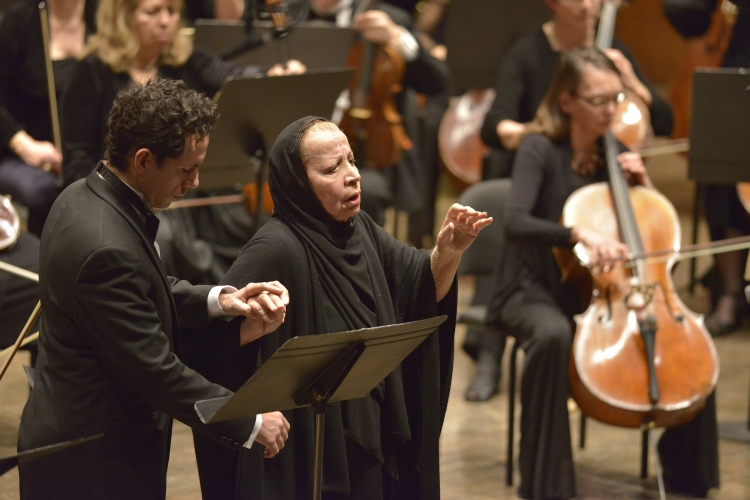 High Res Rosalind Elias and the Opera Orchestra of New York perform