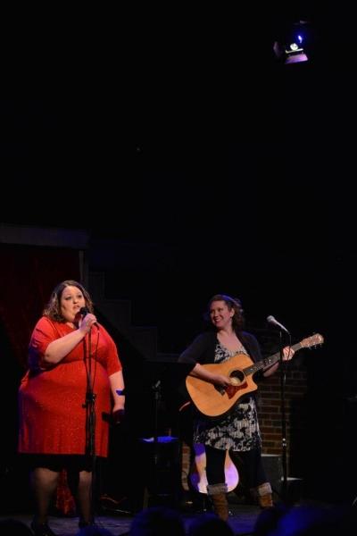 Amanda Lamb, accompanied by Jaclyn Lisenby Brown Photo