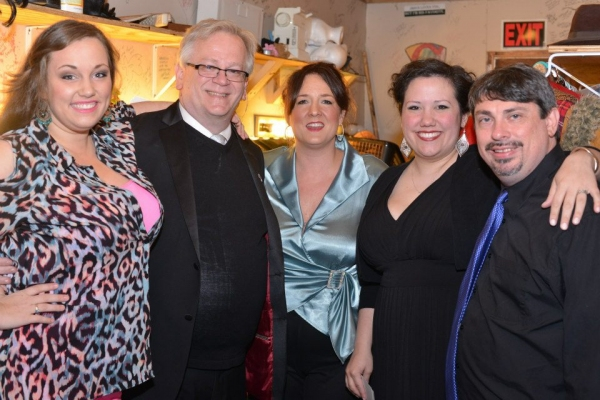 Leila Nelson, Jeffrey Ellis, Weslie Webster, Lauren Marshall Murphy and Ron Murphy Photo