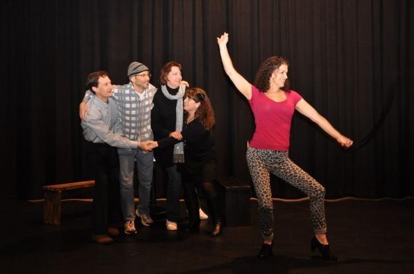 David Cowan, Sam Weiss, Kristine Tibbs, Debbie MacLeod, and Lisa Weiss; Photo: Arthur Mortell