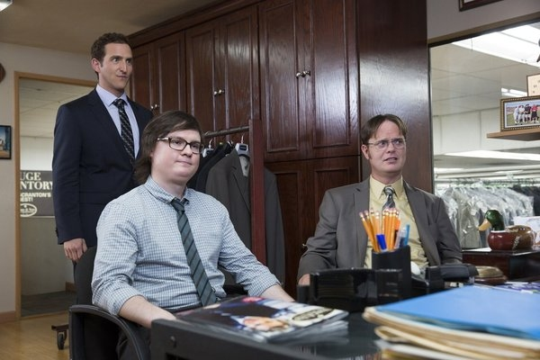 Will Greenberg, Clark Duke, Rainn Wilson