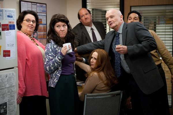 Phyllis Smith, Kate Flannery, Brian Baumgartner , Catherine Tate, Creed Bratton, Oscar Nunez