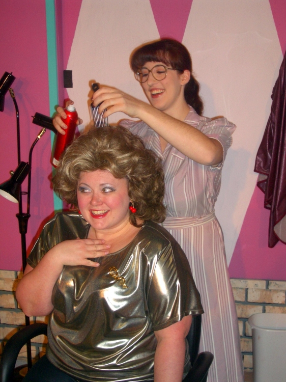 High Res  Suzanna Fox as Truvy and Rachel Silvert as Annelle