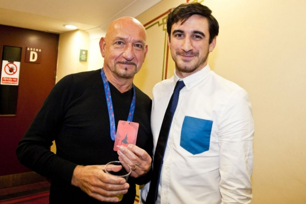 Sir Ben Kingsley and Ferdinand Kingsley