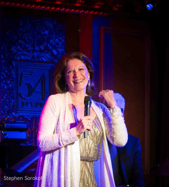 Photo Coverage: Linda Lavin & Billy Stritch Reunite at 54 Below!