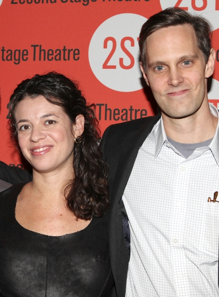 Playwright Quiara Alegria Hudes and director Davis McCullum