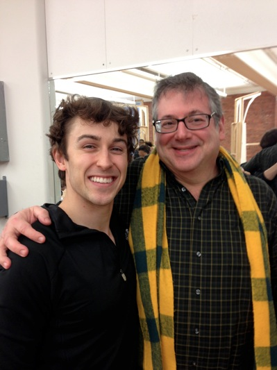 BWW Blog: Cody Williams of R+H's CINDERELLA - Rehearsal Fun!