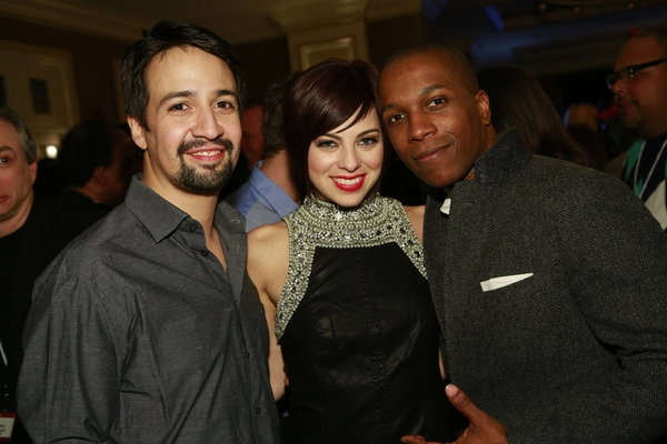 Photo Flash: SMASH Stars & More Attend NBCUniversal's Press Tour