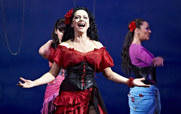 Photo Flash: First Look at Lucie Bila and More in CARMEN - 3D Movie Set to Open Today!