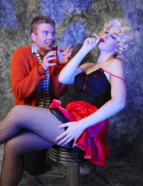 Keith Hovis (Ralph), Emily Jabas (Sally) Photo