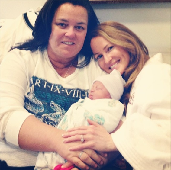 Twitter Watch: Rosie O'Donnell Welcomes Baby Girl to Family!