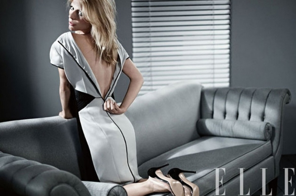 Photo Coverage: Claire Danes ELLE'S February Cover Shoot; Magazine Hits Stands Today