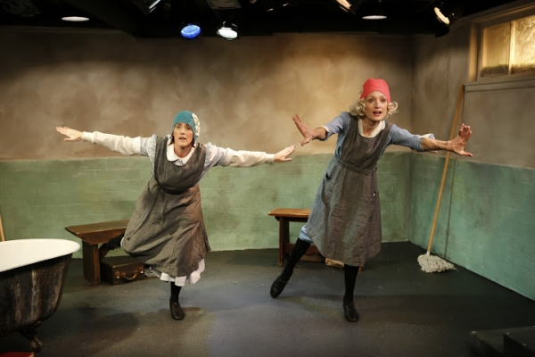 Photo Flash: AIRSWIMMING Opens Tonight at Irish Repertory Theatre