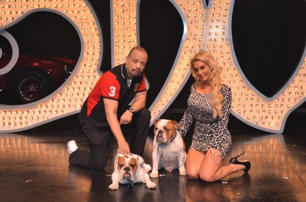 Photo Flash: Coco Austin and Ice-T at Planet Hollywood's PEEPSHOW