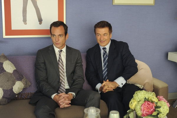 Will Arnett, Alec Baldwin at First Look at Tomorrow Night's Episode of 30 ROCK