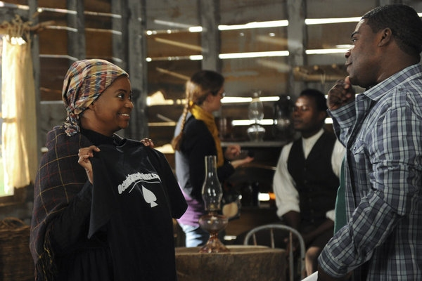 Octavia Spencer, Tracy Morgan at First Look at Tomorrow Night's Episode of 30 ROCK
