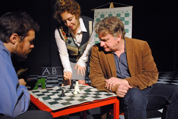 Photo Flash: Slightly Altered States Opens THE CHESS LESSON