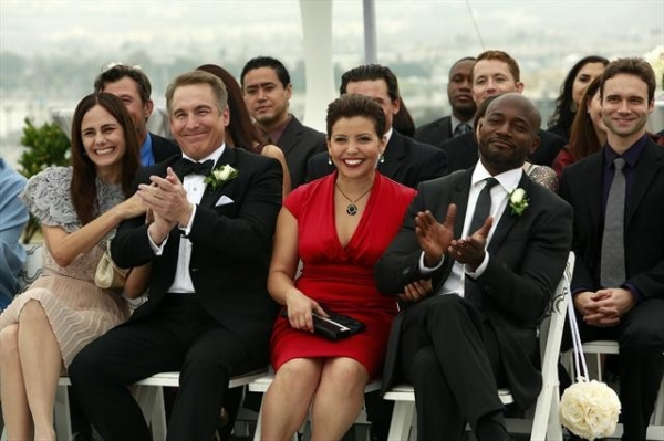 DIANE FARR, BRIAN BENBEN, JUSTINA MACHADO, TAYE DIGGS at First Look at PRIVATE PRACTICE's Series Finale!