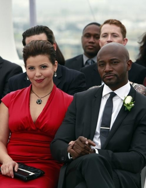 JUSTINA MACHADO, TAYE DIGGS at First Look at PRIVATE PRACTICE's Series Finale!