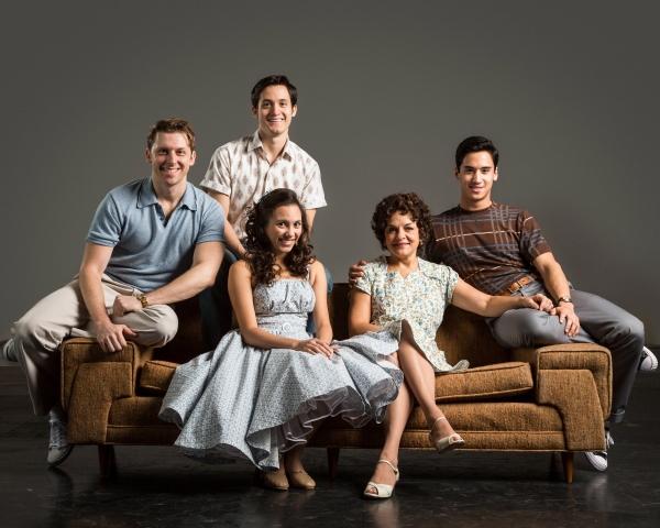 Leo Ash Evens, Eddie Gutierrez, Michelle Cabinian,  Priscilla Lopez, and Michael Rosen