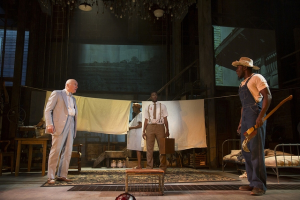 Photo Flash: First Look at Teagle F. Bougere and More in Huntington's INVISIBLE MAN