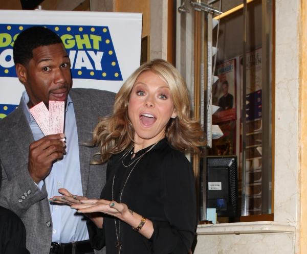 Michael Strahan & Kelly Ripa
