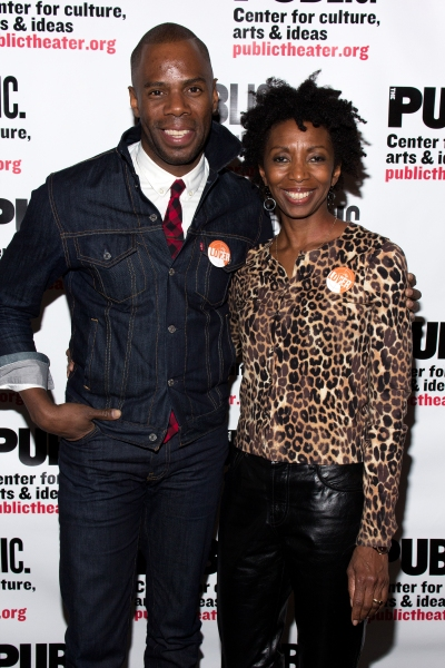 Colman Domingo, Sharon Washington at Inside Opening Night of Public Theater's UNDER THE RADAR Festival